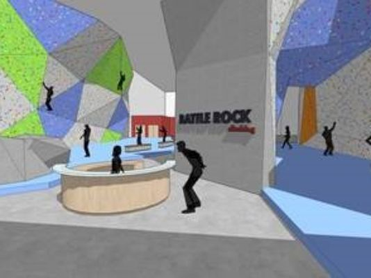 A rendering of a proposed gym in Battle Creek, MI. Photo: Battle Creek Enquirer.