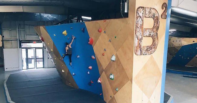 Getting ready for the rush at Birmingham Boulders.  Photo: BB