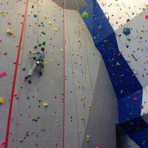 Bend Rock Gym. Walls by Entre Prises.