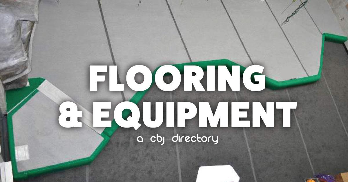climbing wall flooring and equipment