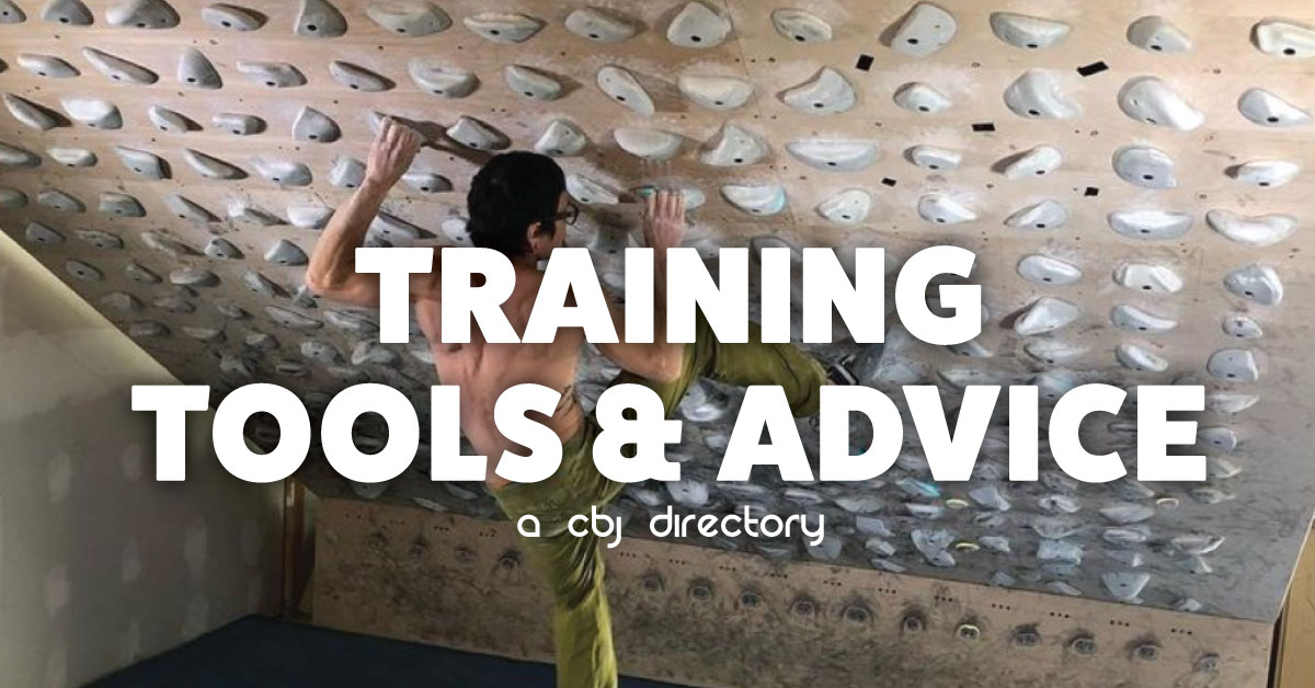 Climbing Training Tools & Advice
