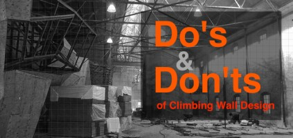 Climbing Wall Do's and Don'ts
