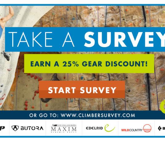 CWA Indoor Climber Survey