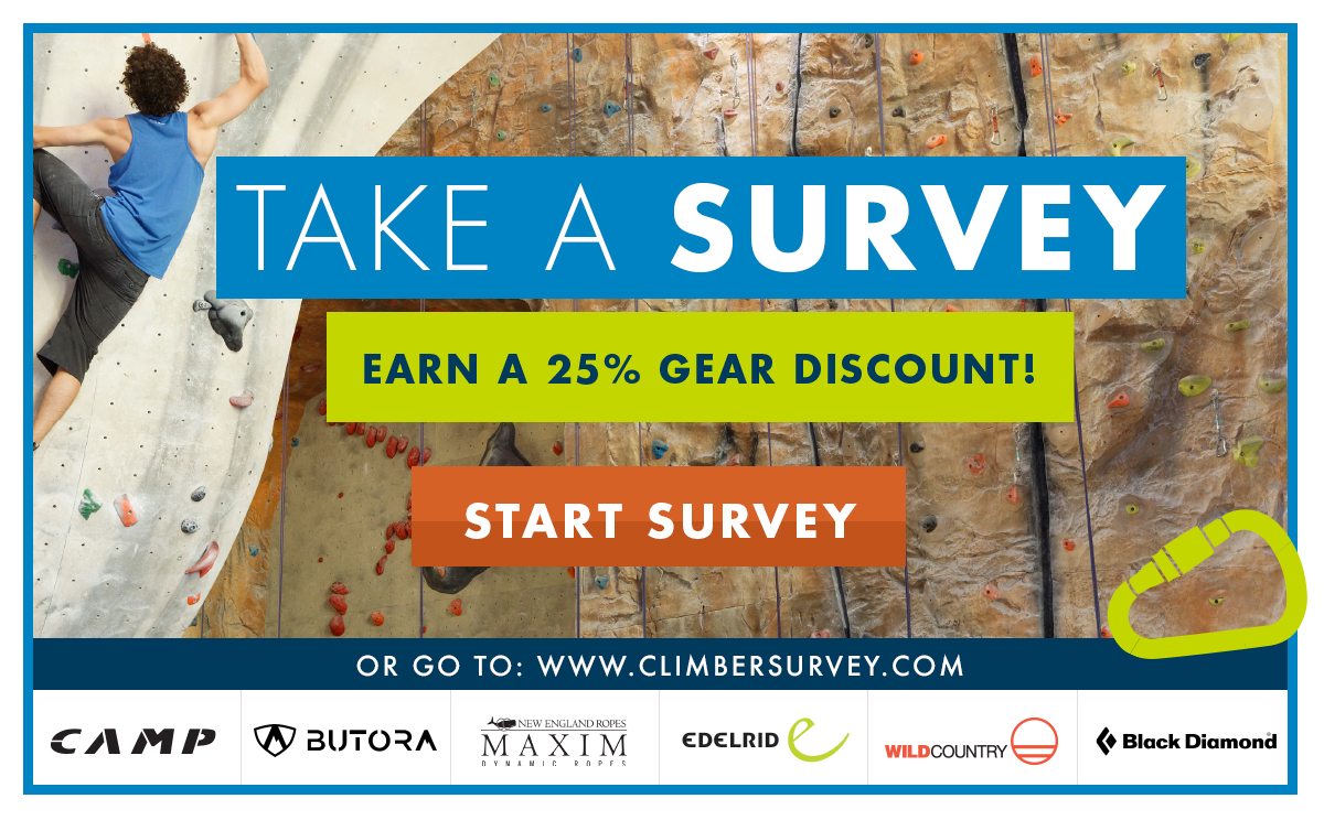 CWA Indoor Climber Survey