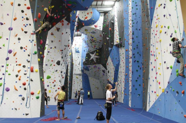 Kehl Brings Flow To Wall Design Climbing Business Journal