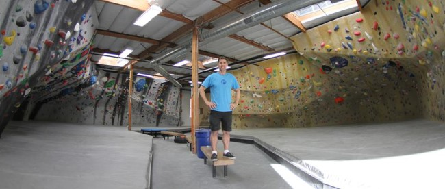 Photo: Kingdom Climbing. Louie Anderson and the Factory's battlefield.