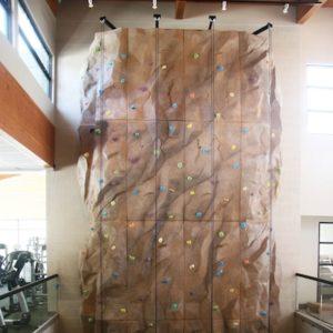 Flagstaff YMCA. Wall by Eldorado.