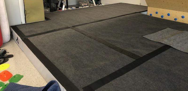 Strati Climbing - Homewall Flooring
