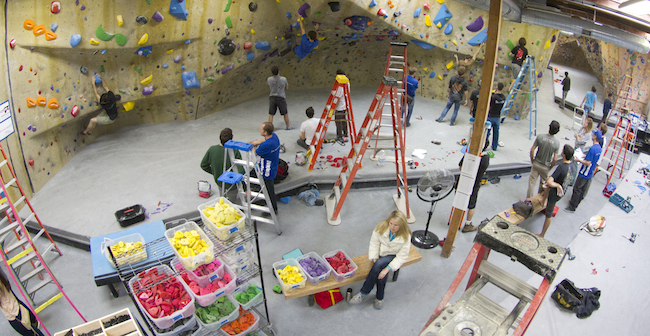 The battlefield at The Factory.  Photo: Kingdom Climbing.
