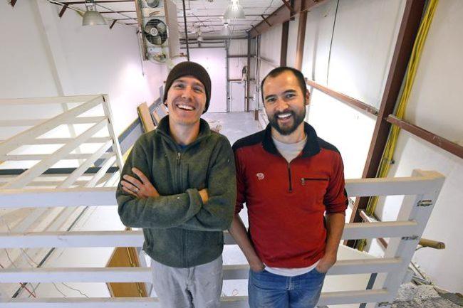 Owners, Evan Mann and Adam Lum.  Photo: Craig Young  / Loveland Reporter-Herald