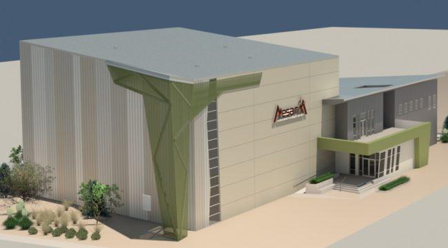 Rendering of the new Mesa Rim Reno.
