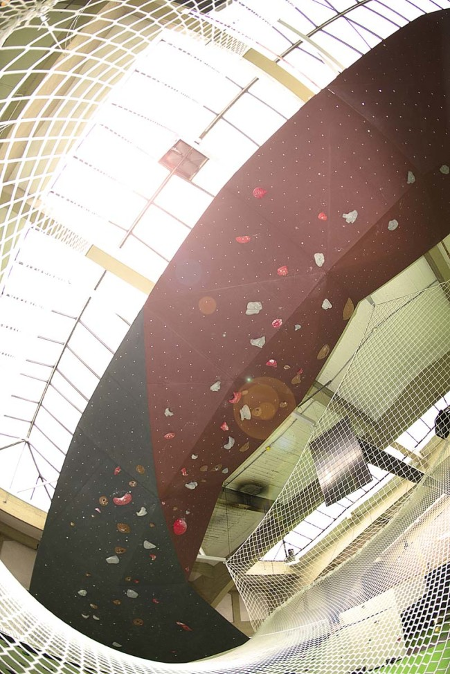 net bouldering