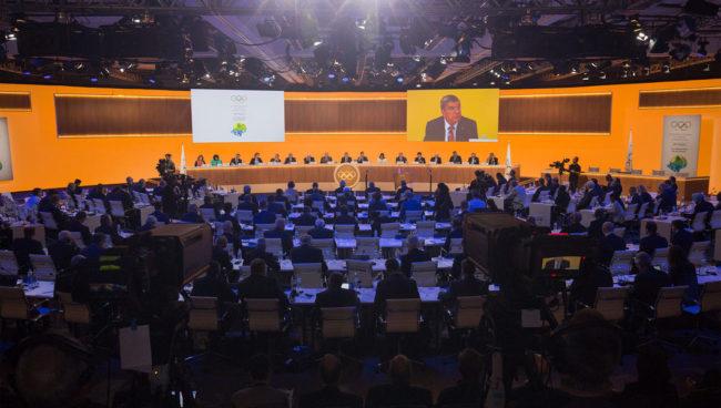 The IOC meets.