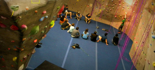 Photo: Triangle Rock Gym