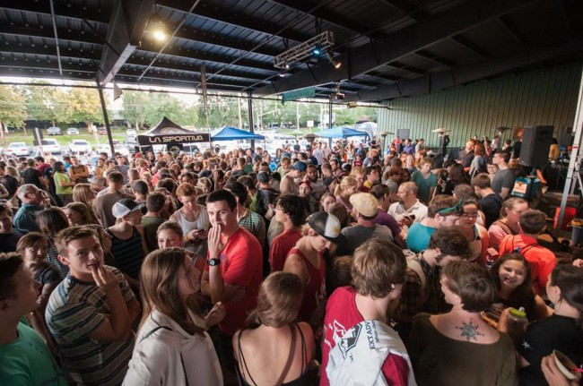 The crowd at PBR. Photo PBR