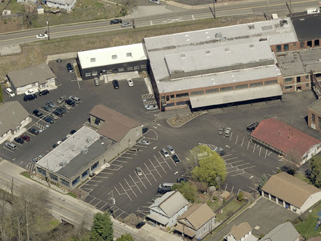 The new warehouse space leased by PRG.