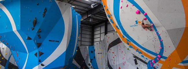 Testing the routes at the new Sender One.  Photo: Sender One
