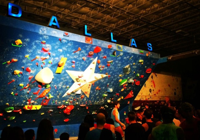 Summit Climbing gym in Dallas.  Photo: Summit.