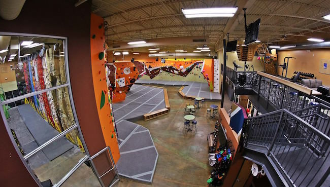 So shiny and new at Upper Limits in Chesterfield.   Photo: Upper Limits