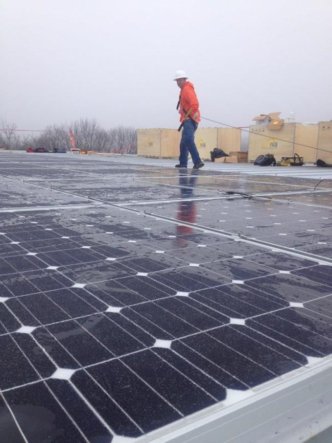 Solar atop Upper Limits. Photo: Upper Limits.