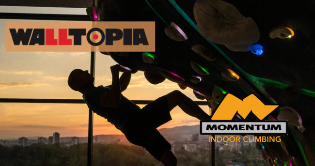 Walltopia announced it is investing in Momentum Indoor Climbing