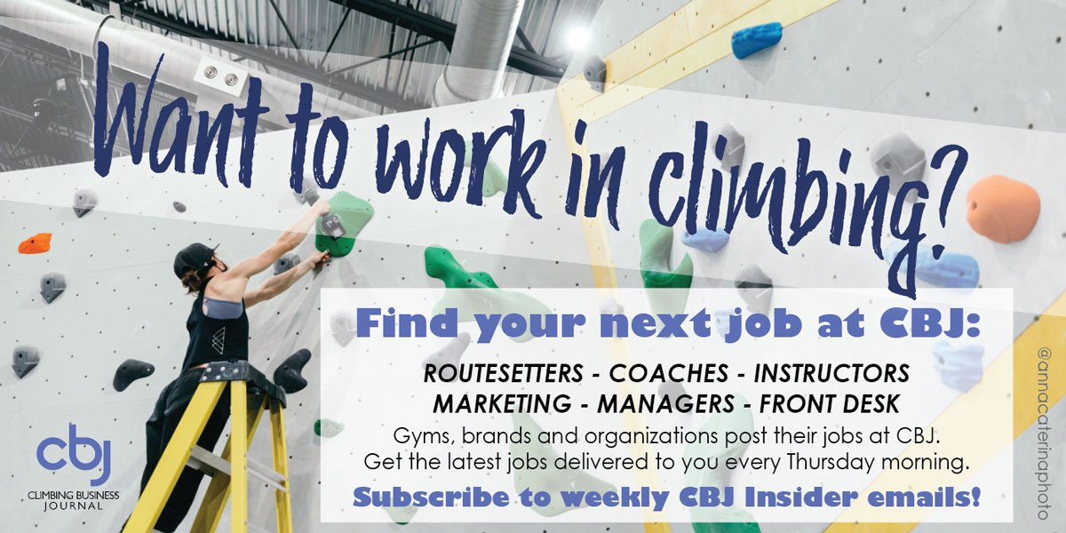 Want to work in climbing?