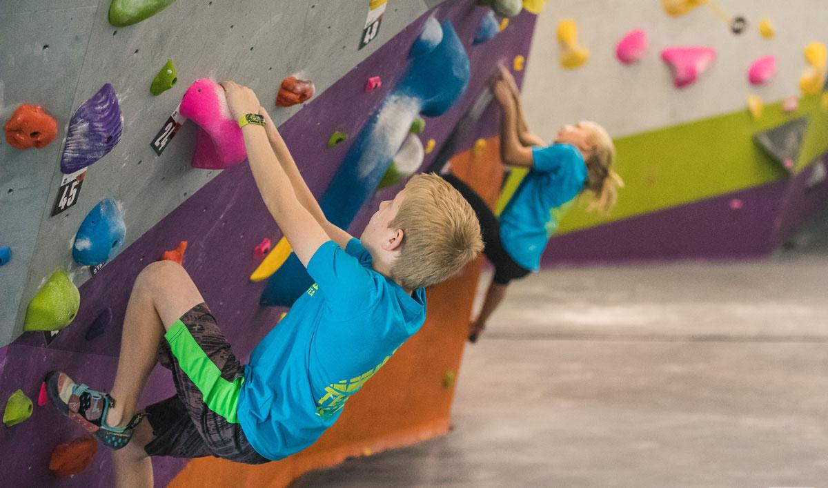 youth climbers
